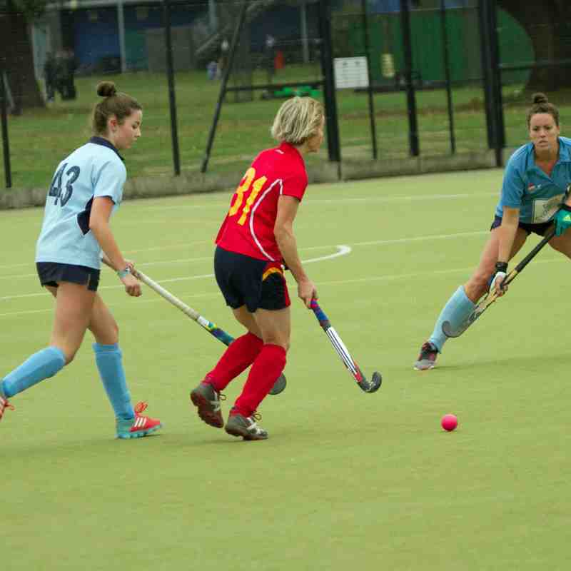 Ladies 2's v. Herne Bay 1's - 6th October 2018