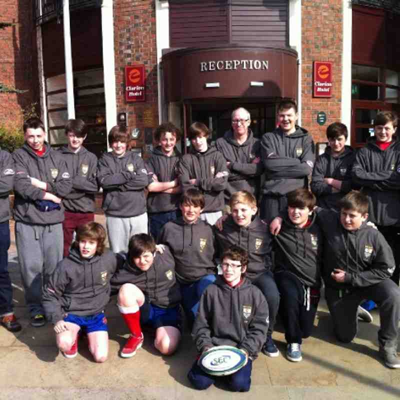 U13 Ireland Tour Apr13