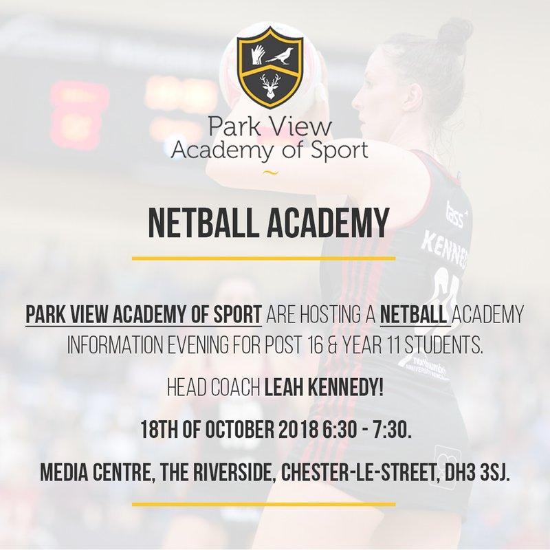 Netball Academy Info