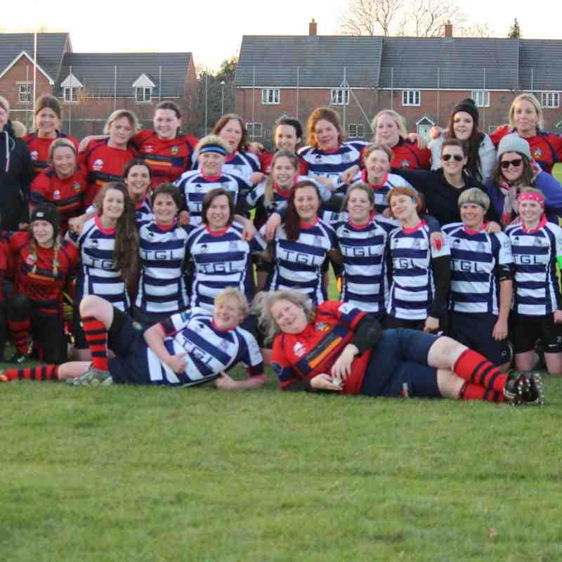 Banbury Belles vs Cheltenham Civil Service 04/12/16