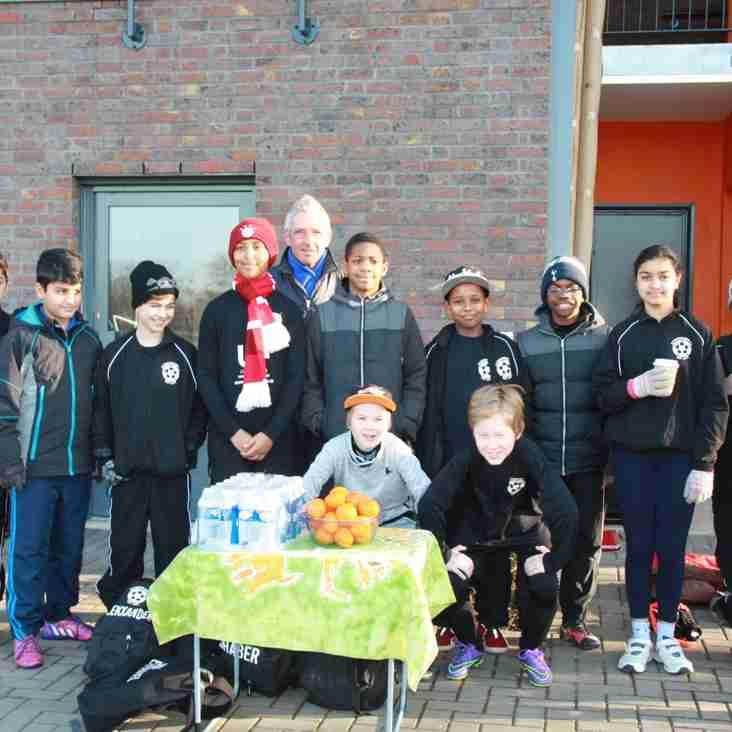 U11Ds sponsored walk has raised a good few ££££ to the tour