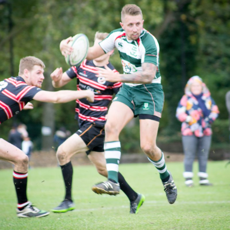 Basildon First XV  Lose To Millwall 1st XV