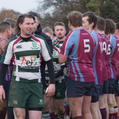 Basildon XV v Clacton 9th December