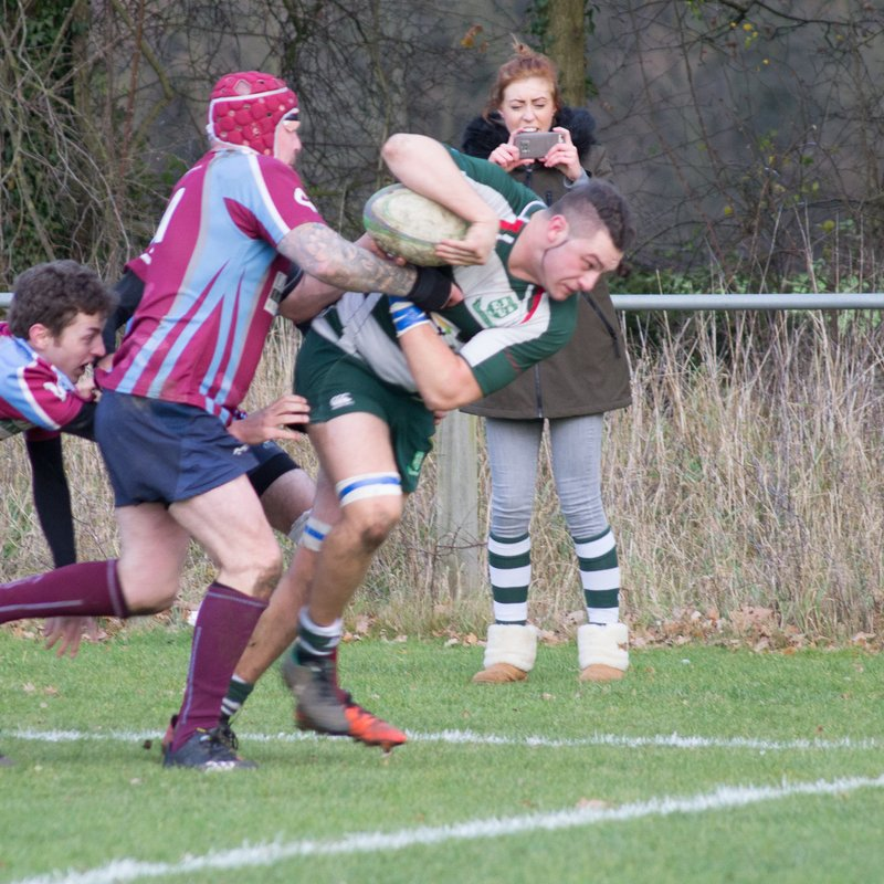 Basildon First XV Win vs Clacton RFC