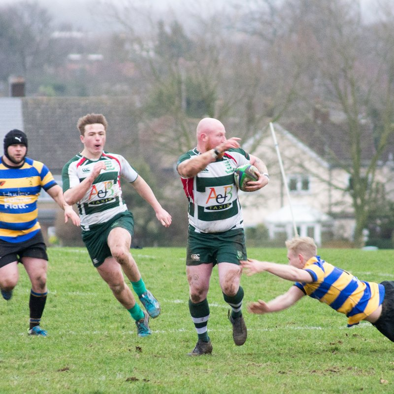 Basildon First XV Win at Upminster RFC