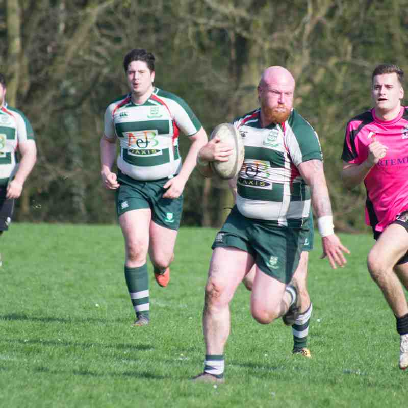 Basildon 1st XV v Mavericks 14th April