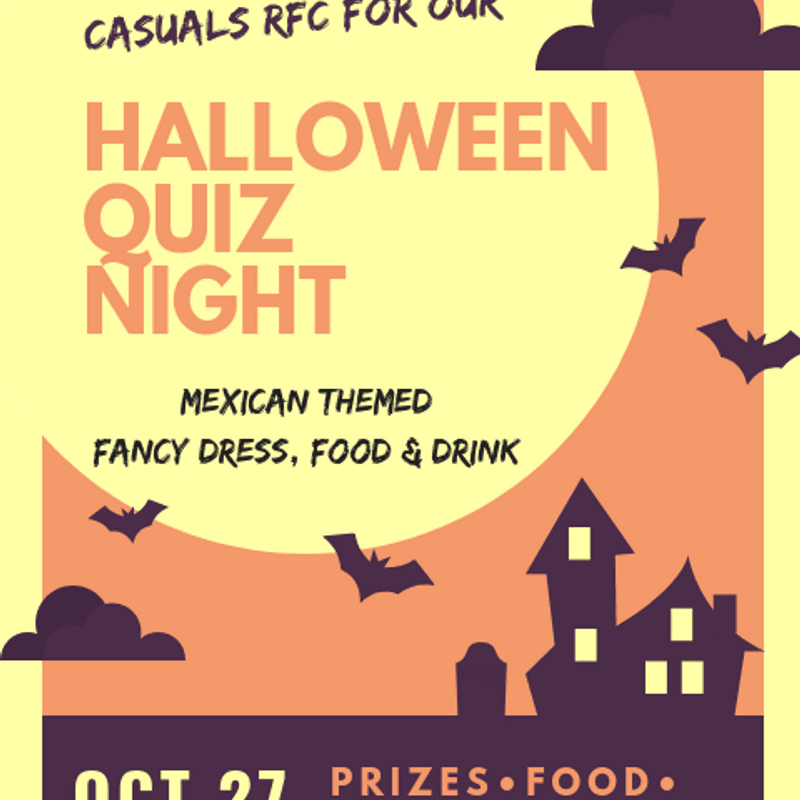 Nottingham Casuals Host Halloween Quiz Night!