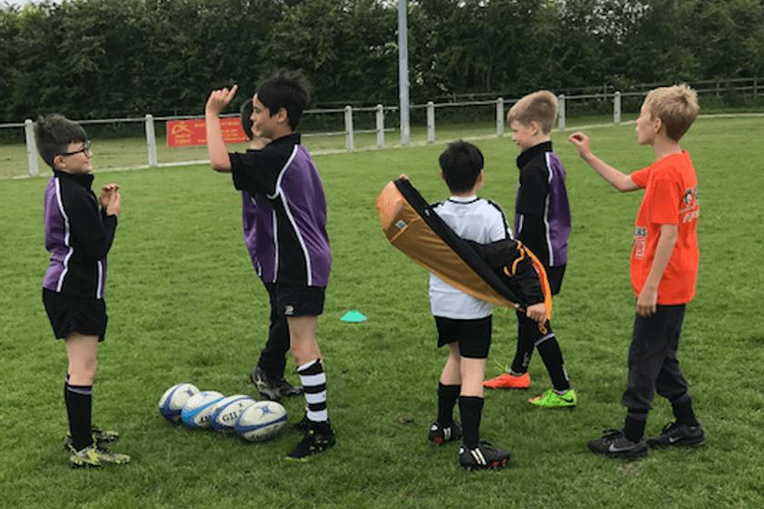 Rugby Camp U5 - U15    Boys and Girls Welcome