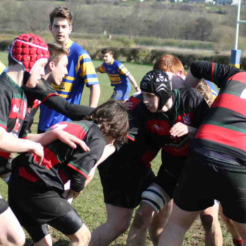 U16's v Tupton March 26th 2017