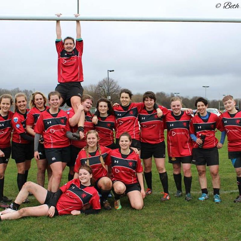 Ladies 1st XV beat Leigh 136 - 0