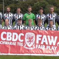 Barmouth & Dyffryn United 1-2 CPD Llanrwst United. 12/8/2016 pictures by Rodney Davies Photography