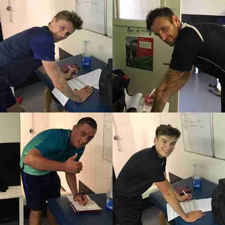 Players sign ahead of New Season