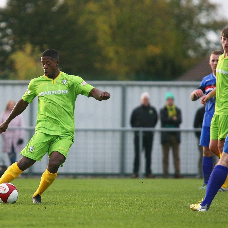 Barwell 1-2 Whitby Town