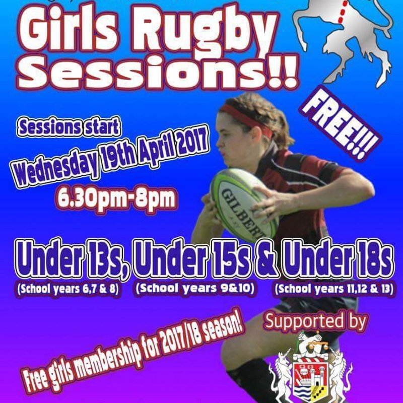 Girls Rugby Sessions