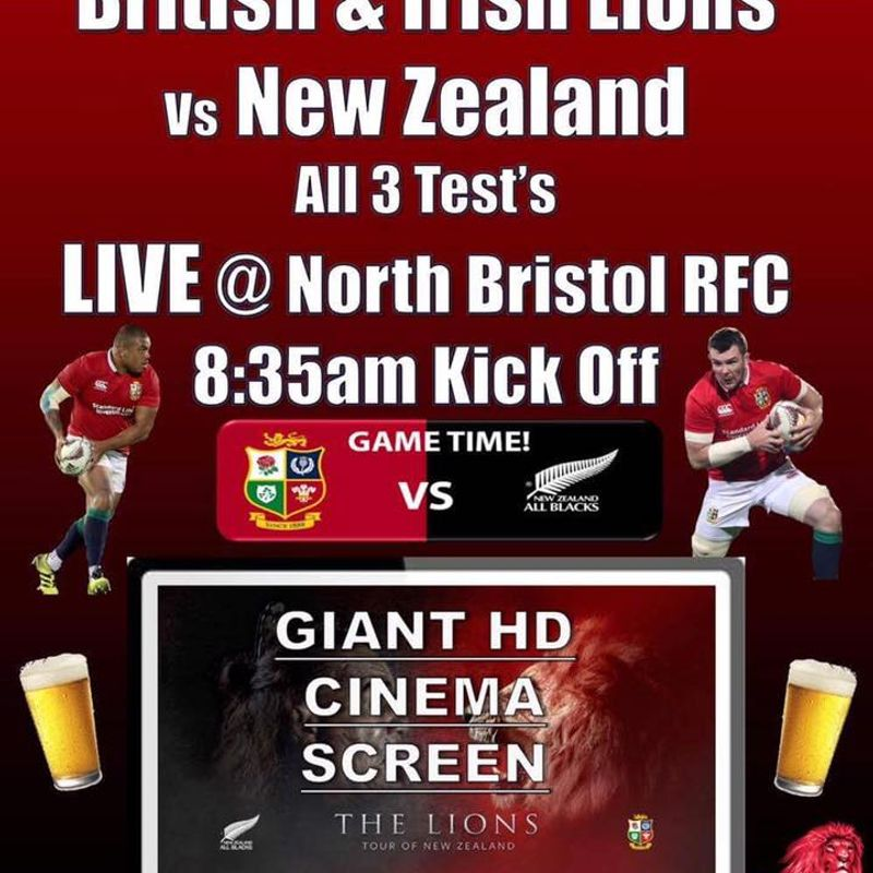 New Zealand vs The British and Irish Lions