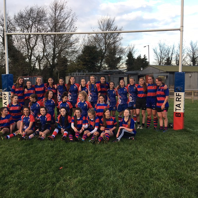 Girls U18s Play First Ever Game