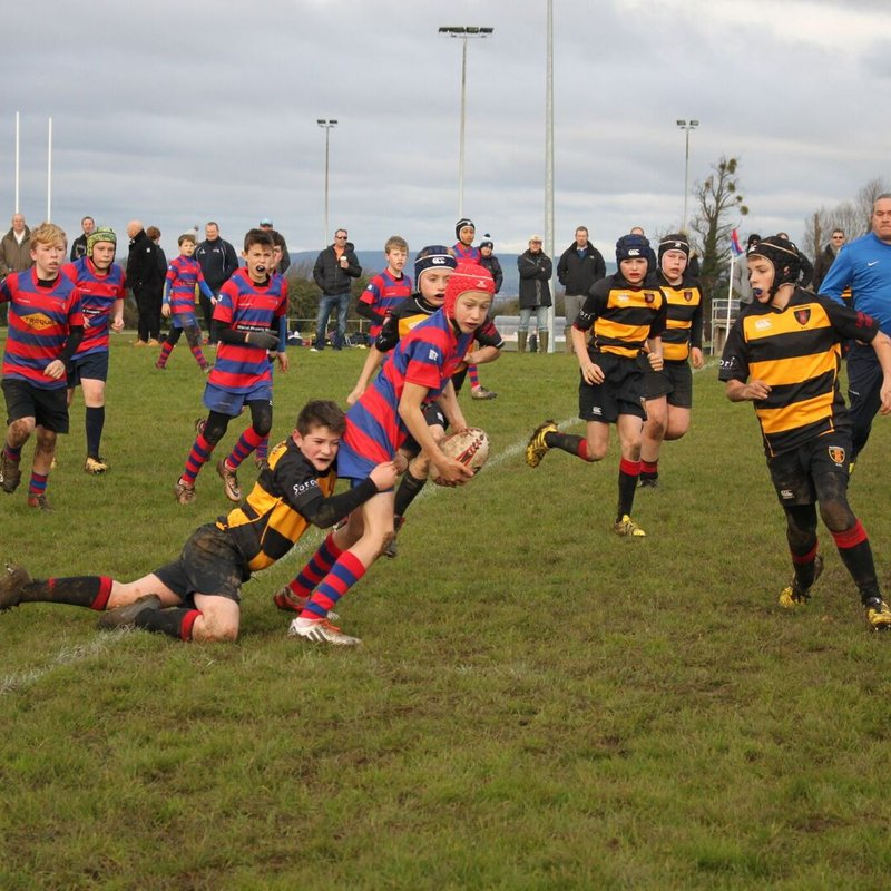 Derby Day Win for U12s