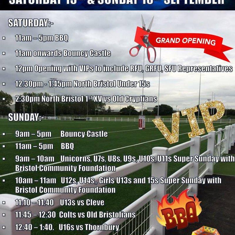 AGP Opening Weekend