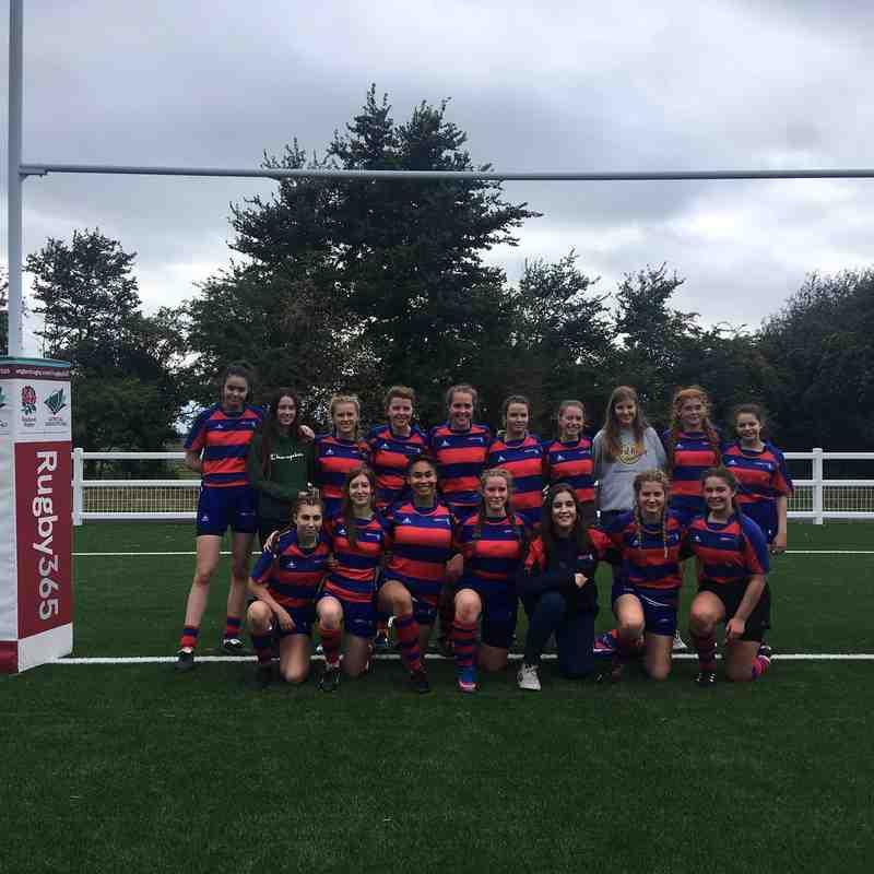 U18s Girls vs Bristol Telephones 2018