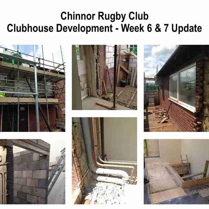 Building Works - Week 6 and 7