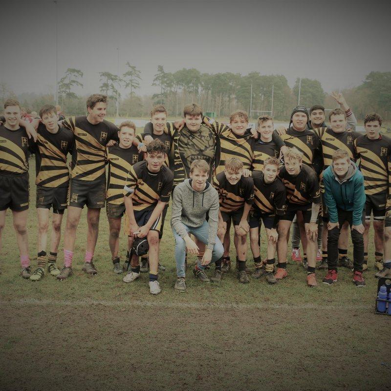 Tadley U16s 14 v Chinnor U16s 35