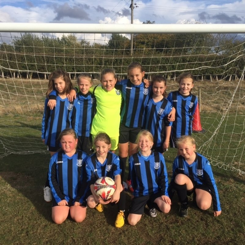 HPFC U11's Highlights (Girls) lose to Writtle Minors FC