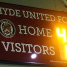 HYDE UNITED FC 4-1 TADCASTER ALBION