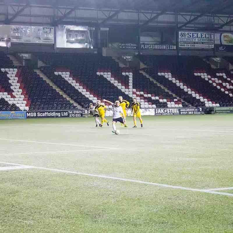 Widnes FC Vs Winsford United FC