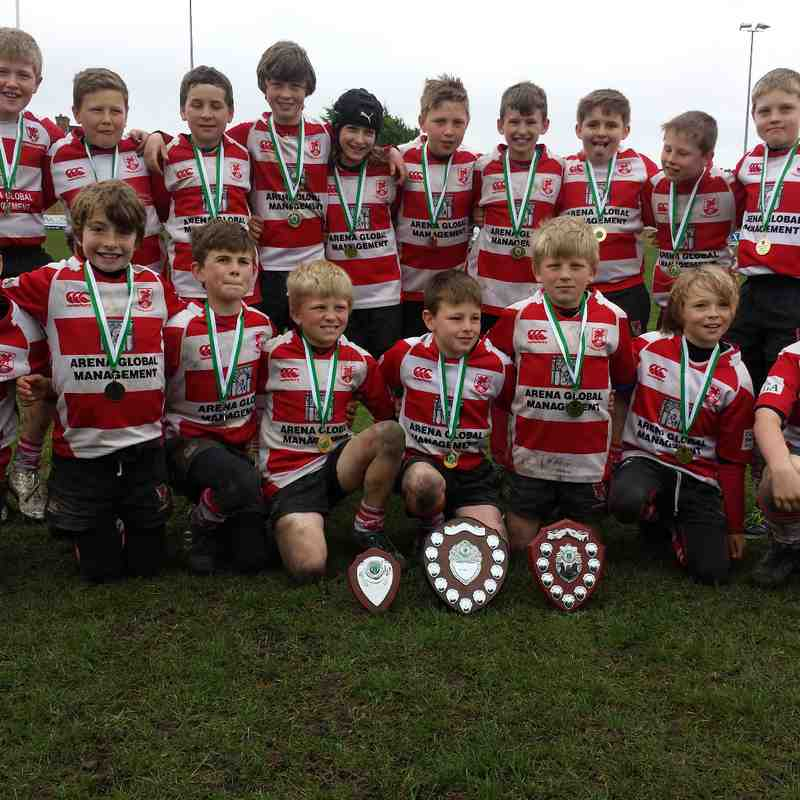 Corsham Under 11's D&W Champions