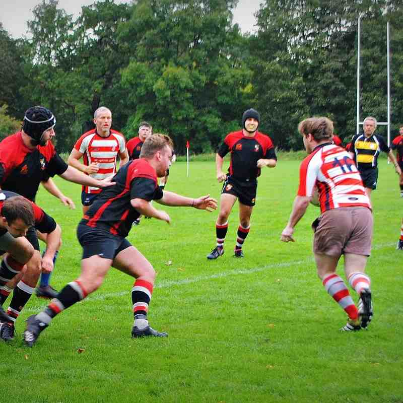AK 2s (15) vs Sefton 2's (10) 1st October 2016