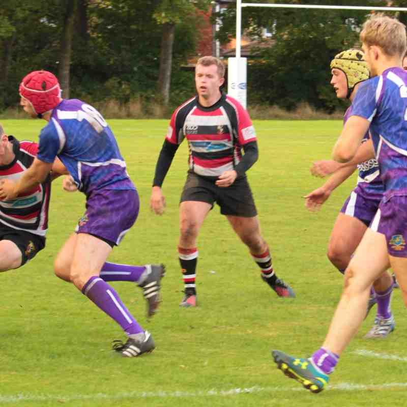 AK2 (14) Vs Uni of Liverpool Vets 1 (27) 8th October 2016