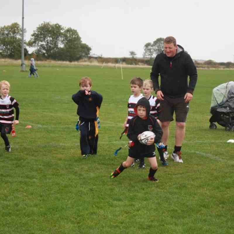 Under 7's v Scarborough RUFC - Sun 16 Oct 2016