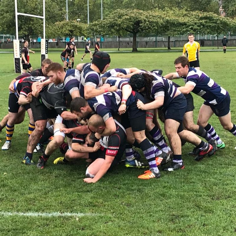 Old Tiff's 2nd XV have party in the park against London Media