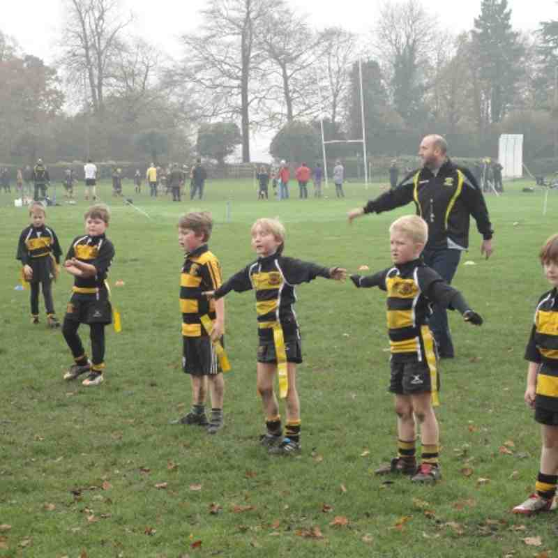 Under 8's - Uttoxeter 13/11/2011