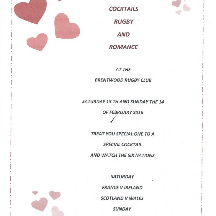 Valentines at the club this weekend<