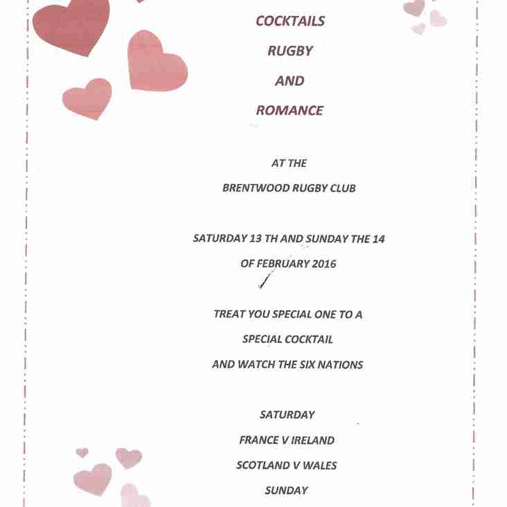 Valentines at the club this weekend