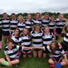 u15 Girls courageous at St George's