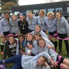 u15 Girls win Shield  at Worthing 10's