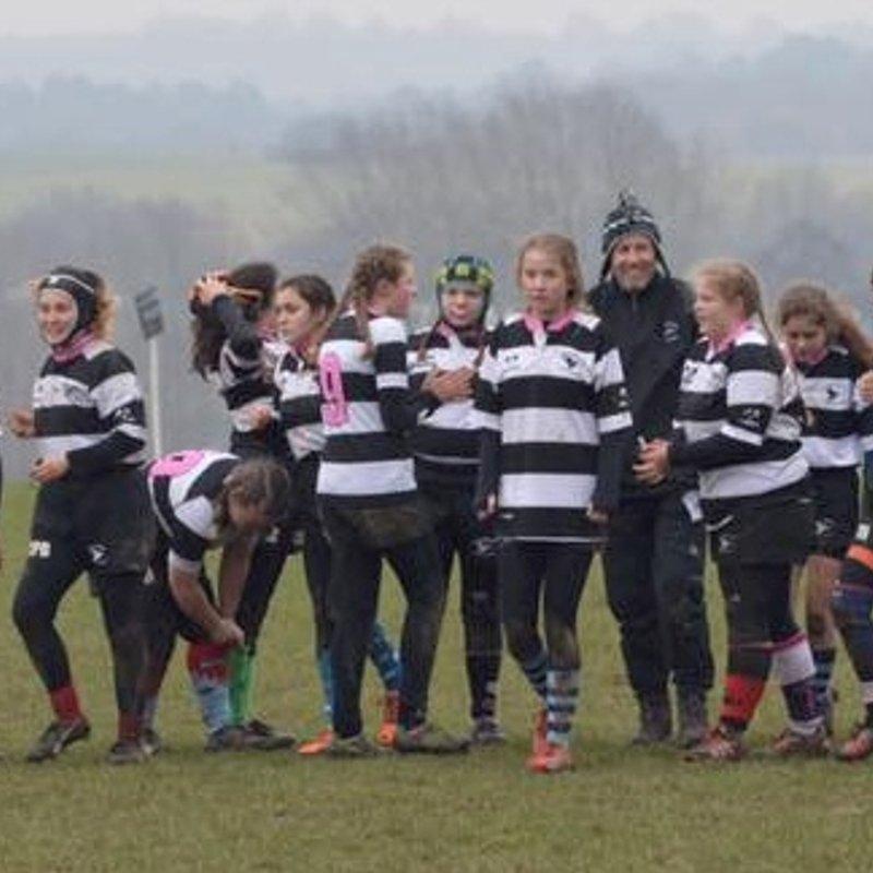 U15 Girls beat Aylesford  14 - 43