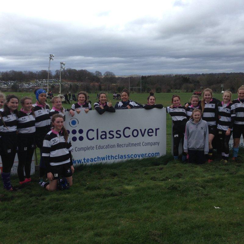 Heroic in defeat - U15 Girls