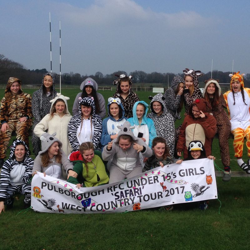 U15 Girls winning in the south west