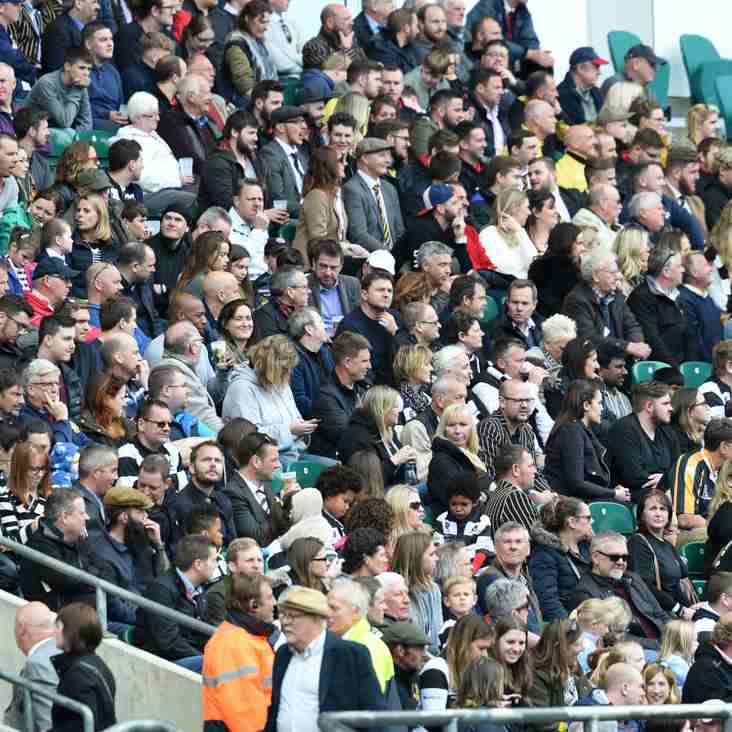 Twickenham Ticket Ballot re-opens to all club members