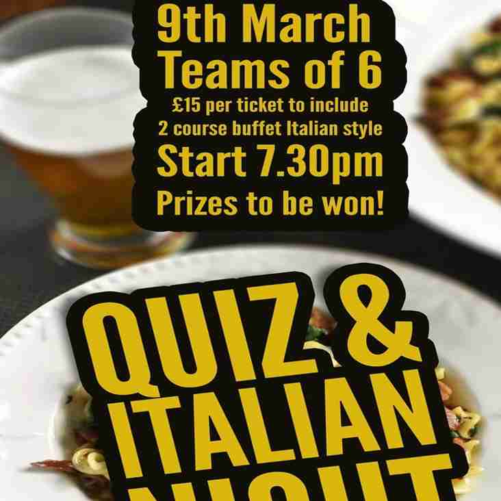 Quiz Night March 9th