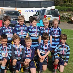 Under 7s Lucton rugby festival