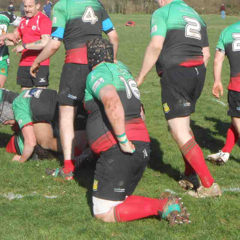 Dartmouth v Buckfastleigh Devon Cup 25-03-2017