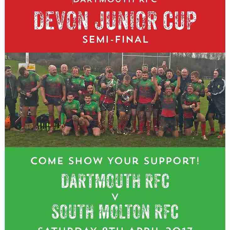 Dartmouth RFC v South Molton RFC