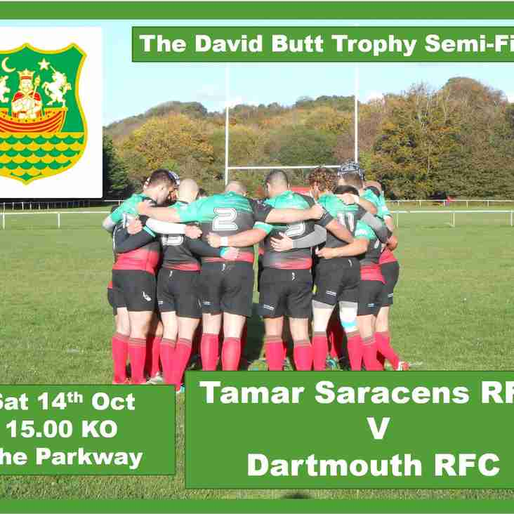 Tamar Saracens RFC v Dartmouth RFC