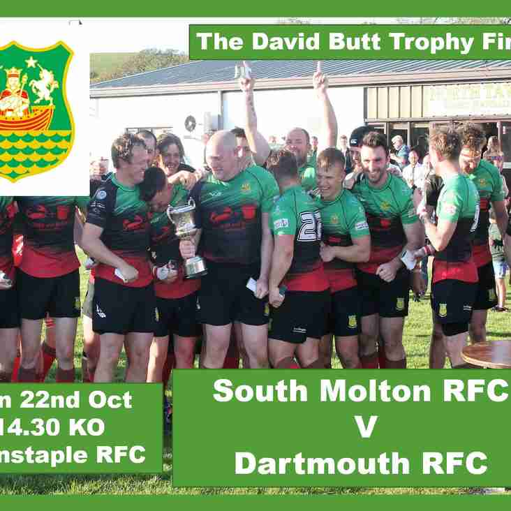 South Molton RFC v Dartmouth RFC