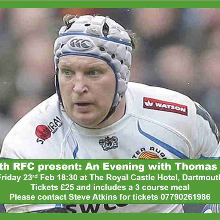 DRFC Present: An Evening With Thomas Waldrom