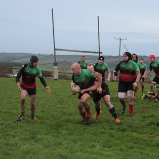 South Molton RFC 63 Dartmouth RFC 5